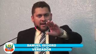 Samuel Isidoro pronunciamento 10 11 17