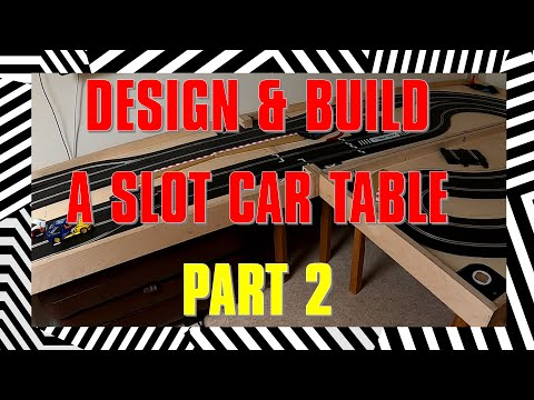 Building a Double-sided Slot Car / Model Railway Baseboard – Part 2