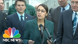 Alexandria Ocasio-Cortez Brands Climate Change Proposal As 'Green New Deal', From YouTubeVideos