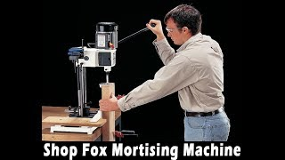 Best Drill Press || The Most Comprehensive Shop Fox Mortising Machine Review (NEW Drill Press)