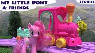 My Little Pony MLP Play Doh Peppa Pig Frozen Princess Surprise Egg Thomas and Friends Hello Kitty