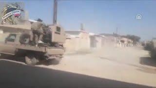 Сирия. Война в Сирии. Боевики и ВС Турции громят курдов в Сирии захвачен стратегически важный город