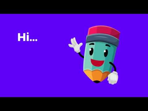 Pencil Mascot Animation - After Effects template from Videohive