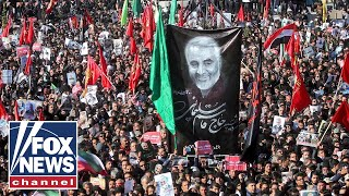 Stampede during Soleimani's funeral leaves at least 40 dead: reports
