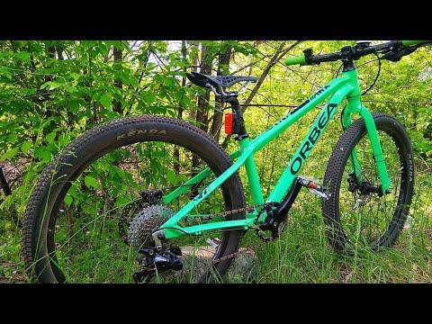 Топовый подростковый велосипед на бескамерке, гидравлике Orbea MX24 Team Disc