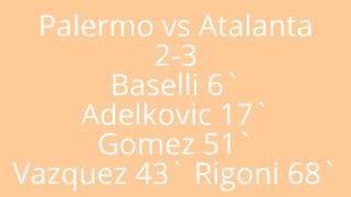 Video Gol Pertandingan Palermo vs Atalanta