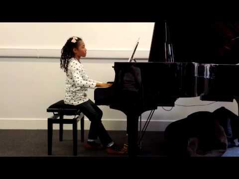 ABRSM Grade 5 - Ama performs Andantino: No. 4 from Fünf kleine Klavierstücke, S. 192 by Liszt at CYM