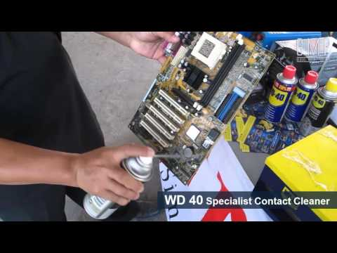 WD 40 & WD 40 Specialist Contact Cleaner - YouTube