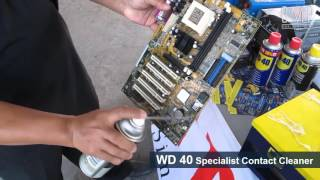 WD 40 & WD 40 Specialist Contact Cleaner