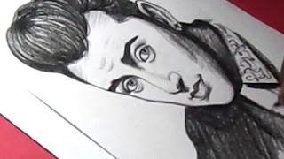 How to Draw English singer songwriter Sam Smith Drawing