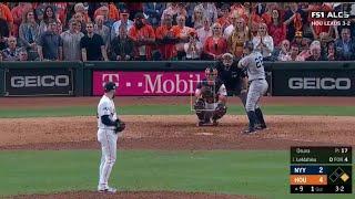 DJ Lemahieu Game-Tying 2-Run Home Run vs Astros | Yankees vs Astros ALCS Game 6