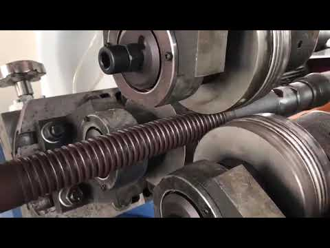 220v Stainless Steel Pipe Thread Rolling Machine
