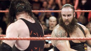 Experience the monstrous main event between Braun Strowman and Kane like never before