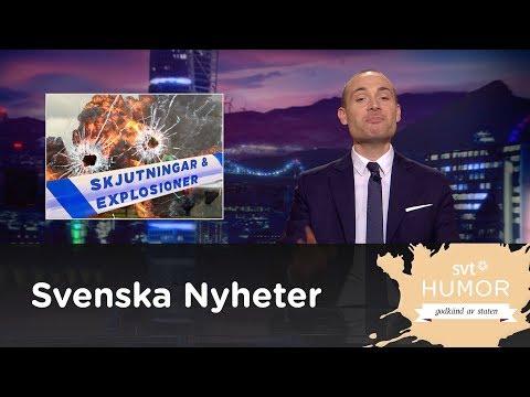 Explosioner och skjutningar - Svenska nyheter