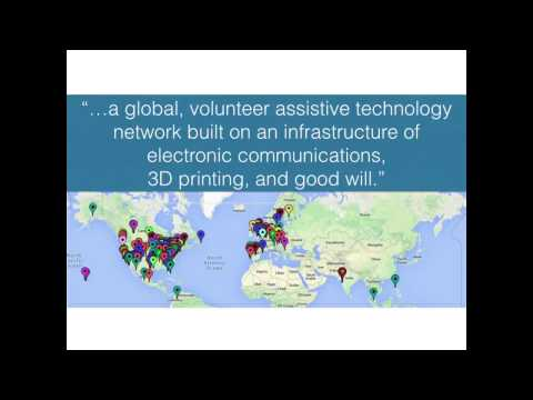 e-NABLE -- volunteers changing the world with 3D-printed prosthetics | Jon Schull | TEDxFlourCity