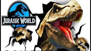 Мир Юрского Периода #2 Боевые  Динозавры   Игра Мультик про Динозавров Jurassic World