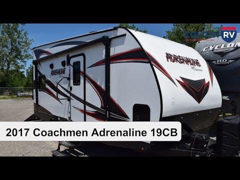 2017 Coachmen Adrenaline 19CB | Travel Trailer Toy Hauler