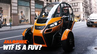 Is This Three-Wheeled EV The Future of Commuting?   Jalopnik
