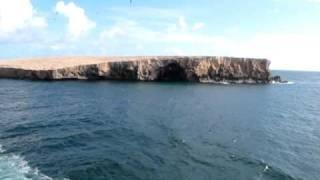Birds Islands, off the Island of Ua Huka, Marquesas Islands, Tahiti--MVI 1640
