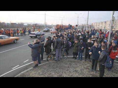 В Невинномысске открыли новый путепровод