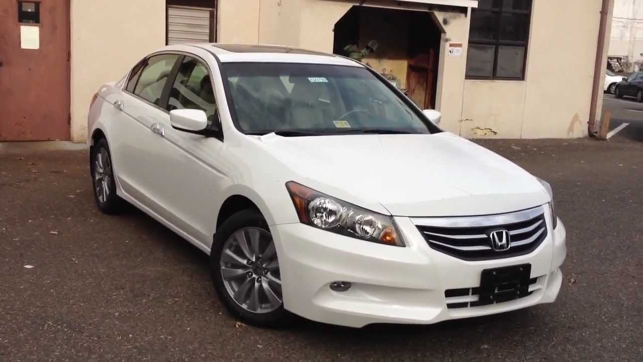 Elegant 2012 Honda Accord EX L V6 Review, Walk Around, Start Up U0026 Rev, Interior    YouTube