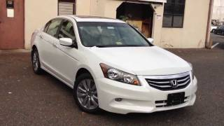 2012 Honda Accord EX-L V6 Review, Walk Around, Start Up & Rev, Interior