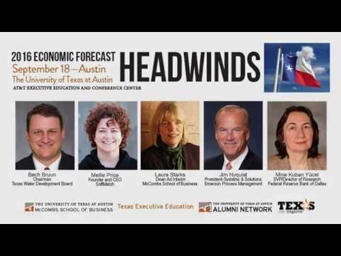 McCombs 2016 Economic Forecast Austin September 18, 2015