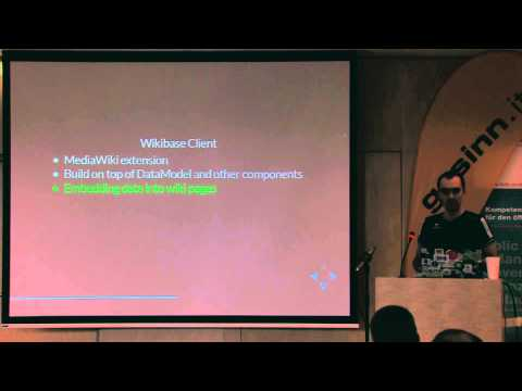 SMWCon Fall 2014, 08, Jeroen DeDauw, Wikibase, the Software behind Wikidata