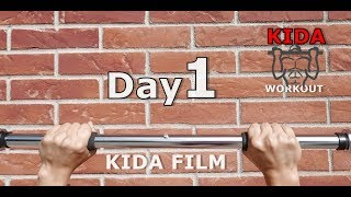 Day 1/30 Pull-Up Calisthenics Workout Challenge