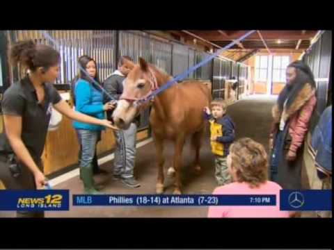 News 12 Long Island Gersh Students Ride Horses For