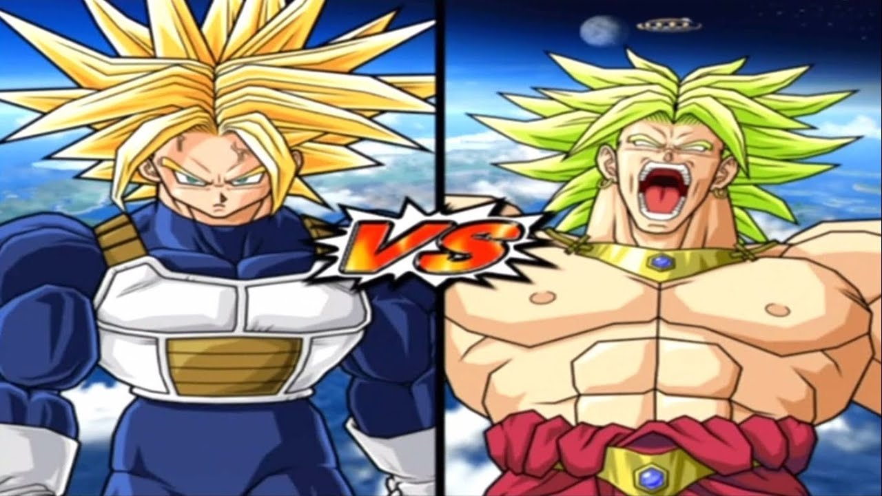 [Hard] DBZ BT 3 Super Trunks vs Broly Legendary Super ...