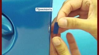 видео Защитная полировка покрытия кузова УАЗ, удаление сколов, царапин