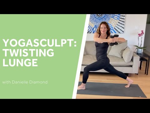 Yoga Sculpt: Twisting Lunge