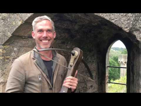 Dr Sam Willis VLOG 031 Crossbows and Longbows!
