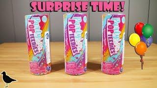 Party Pop Teenies Single Surprise Popper Toy Opening & Review | Birdew Reviews