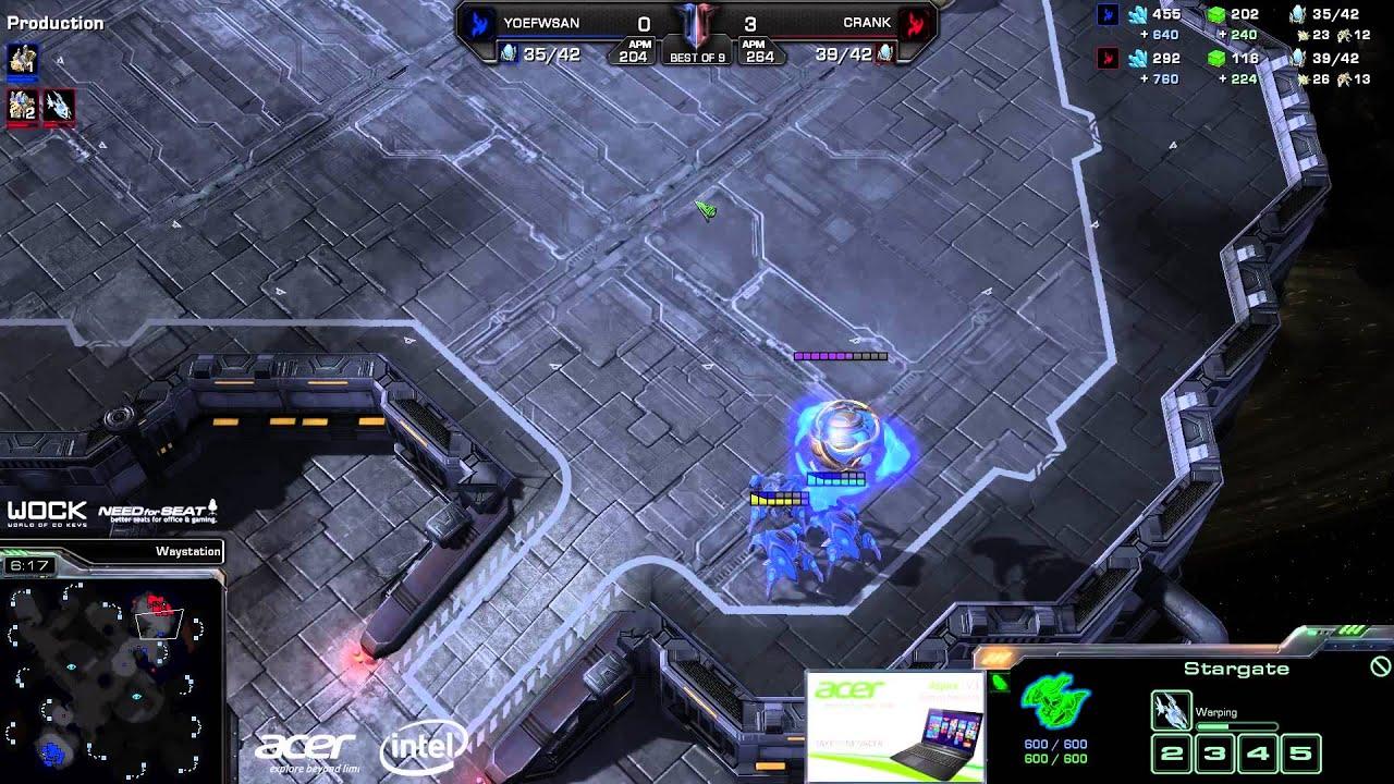 Crank vs. San (ATC) - Axiom vs. FlashWolves - Game 4 - StarCraft 2