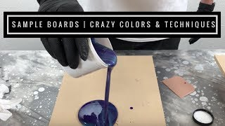 Metallic Epoxy Sample Kits / Order Today and See the Difference