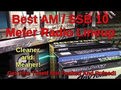 Best AM/FM/SSB 10 Meter Mobile Export CB Radio Lineup For 2018 - 2019 (front mic)