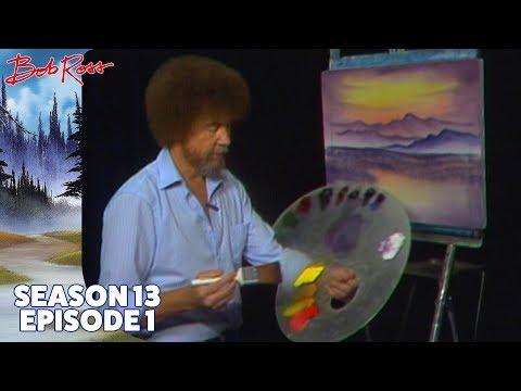 Bob Ross - Rolling Hills (Season 13 Episode 1)