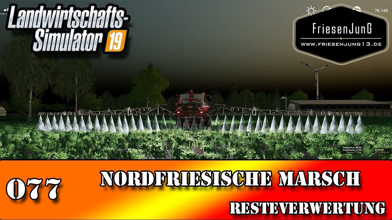 LS19 Nordfriesische Marsch mit Courseplay 077 - Resteverwertung