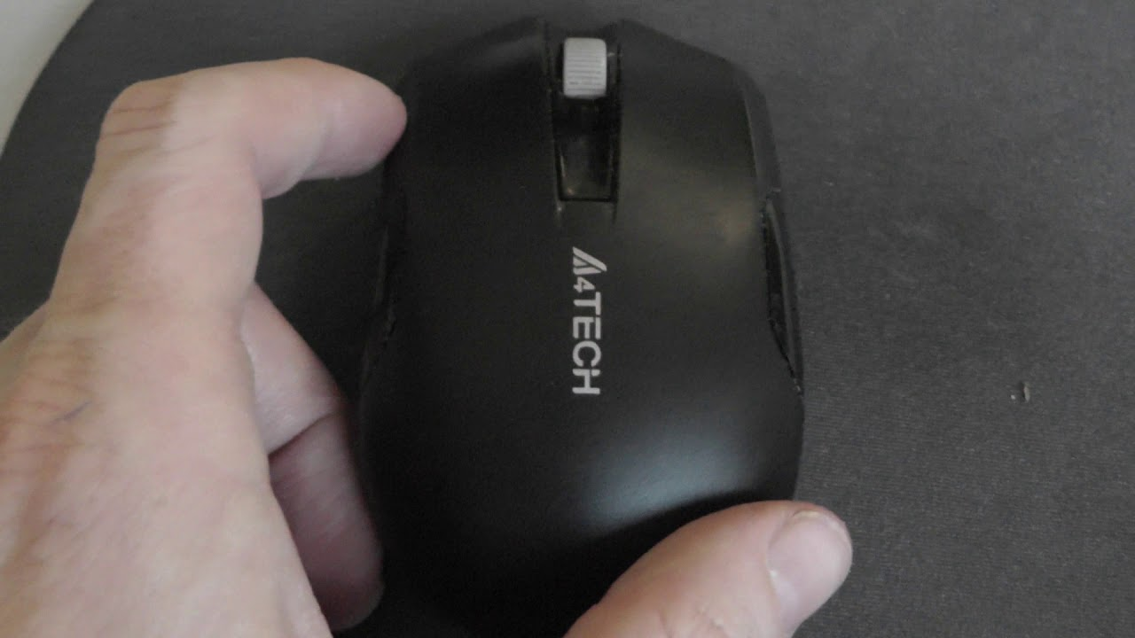 A4TECH G3-200N Wireless Mouse - YouTube