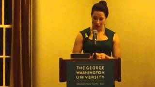 Amelia Shares Her Story at The George Washington University