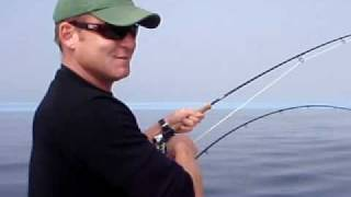 tofino b c salmon fishing with 6 wt fly rod offshore