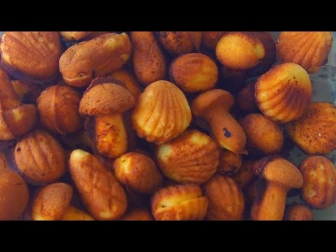 Рецепт Цельного Печенья Ассорти на Газу Грибочки Шишки Орешки Ракушки