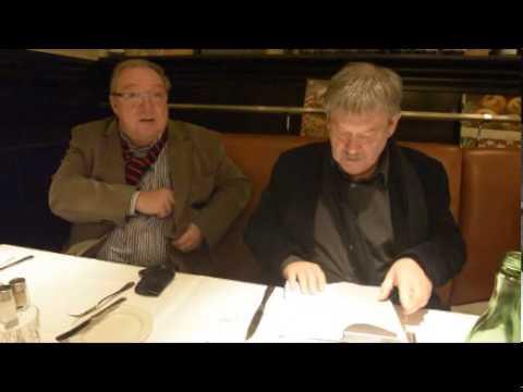 Schwarz und Winkler vor ihrem letzten Polizeiruf 110