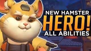 Video Overwatch: NEW Hero Wrecking Ball Gameplay! - ALL Abilities Breakdown! download MP3, 3GP, MP4, WEBM, AVI, FLV Agustus 2018