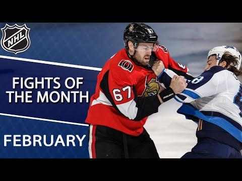 Best NHL fights of February 2019   NHL   NBC Sports