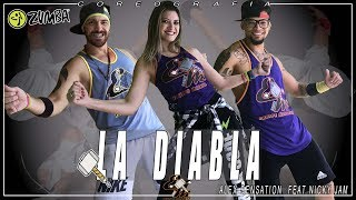 La Diabla Zumba  Alex Sensation, Nicky Jam  Choreography Equipe Marreta 2018