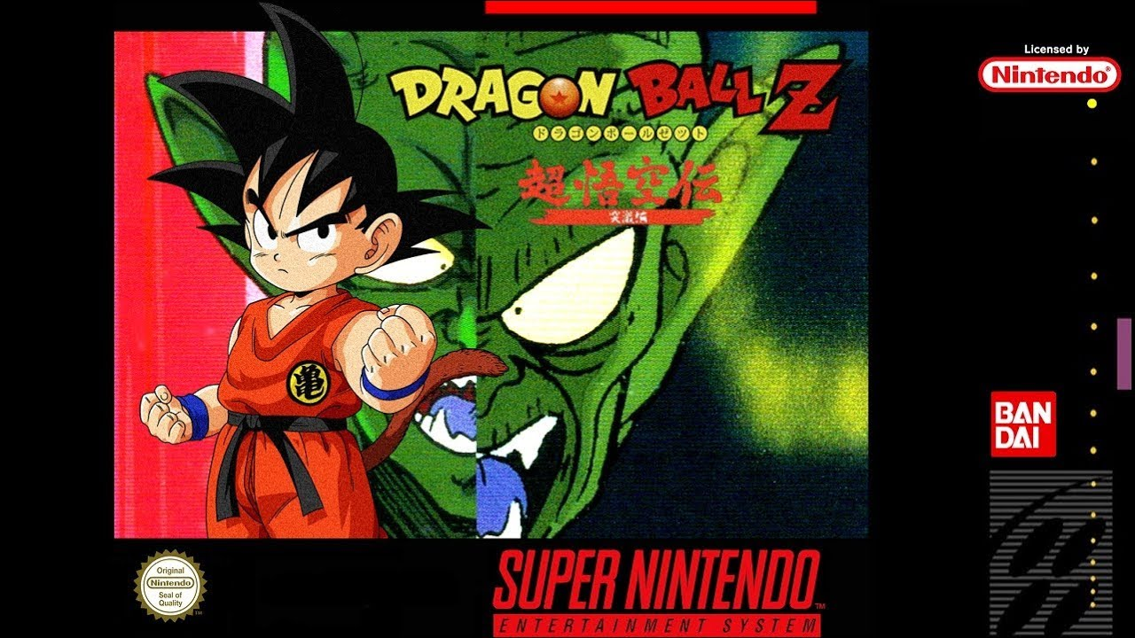 SNES - Dragon Ball Z Super Gokuden Totsugeki-Hen - YouTube