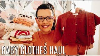 BABY GIRL CLOTHING HAUL | Roseyhome